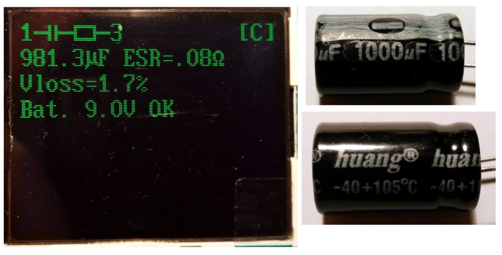 Capacitor Huang 1000uF (new)