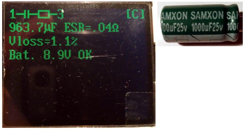 Capacitor Samxon 1000uF (new)