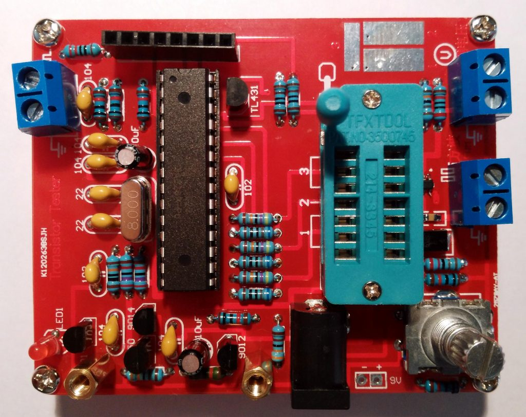 AVR Component Tester - Top