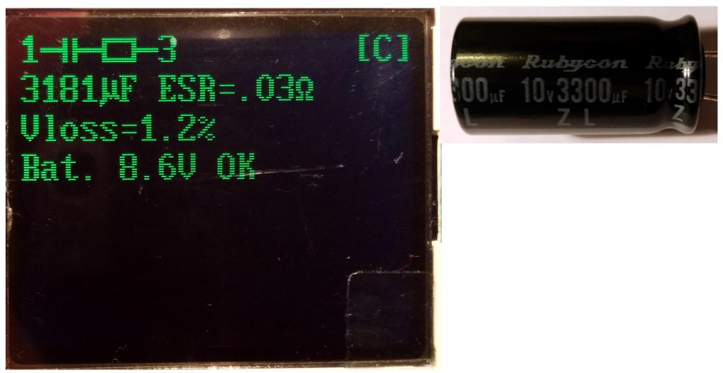 Capacitor Rubycon ZL 3300uF (new)