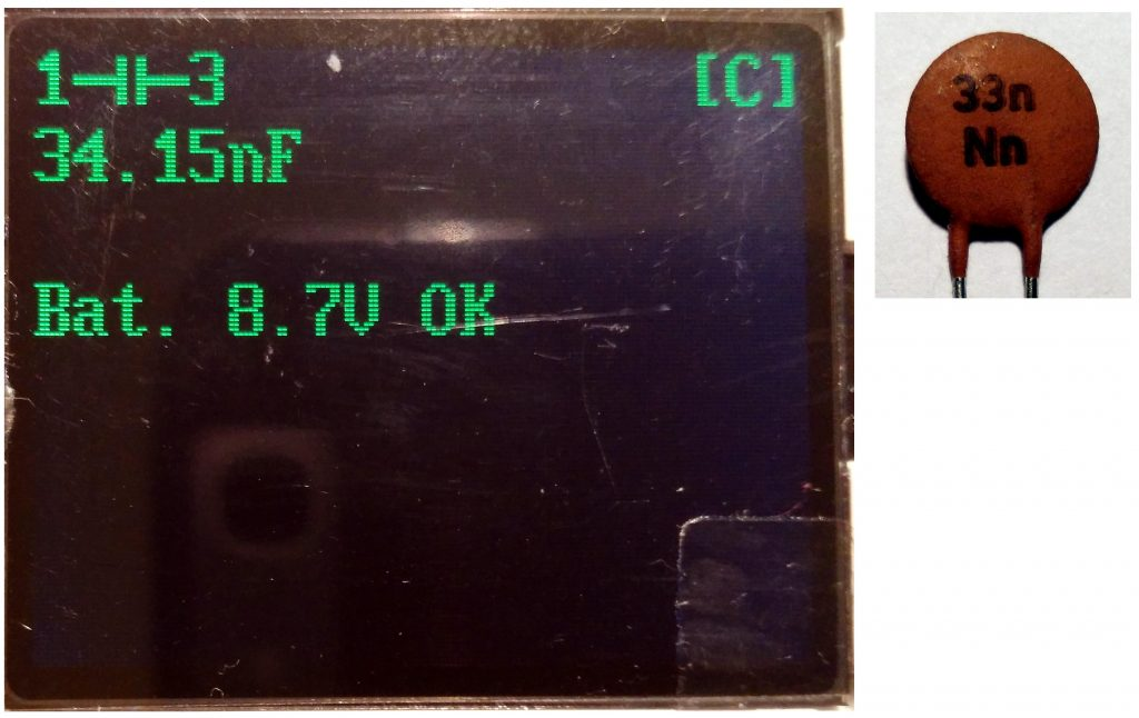 Capacitor 33nF (new)