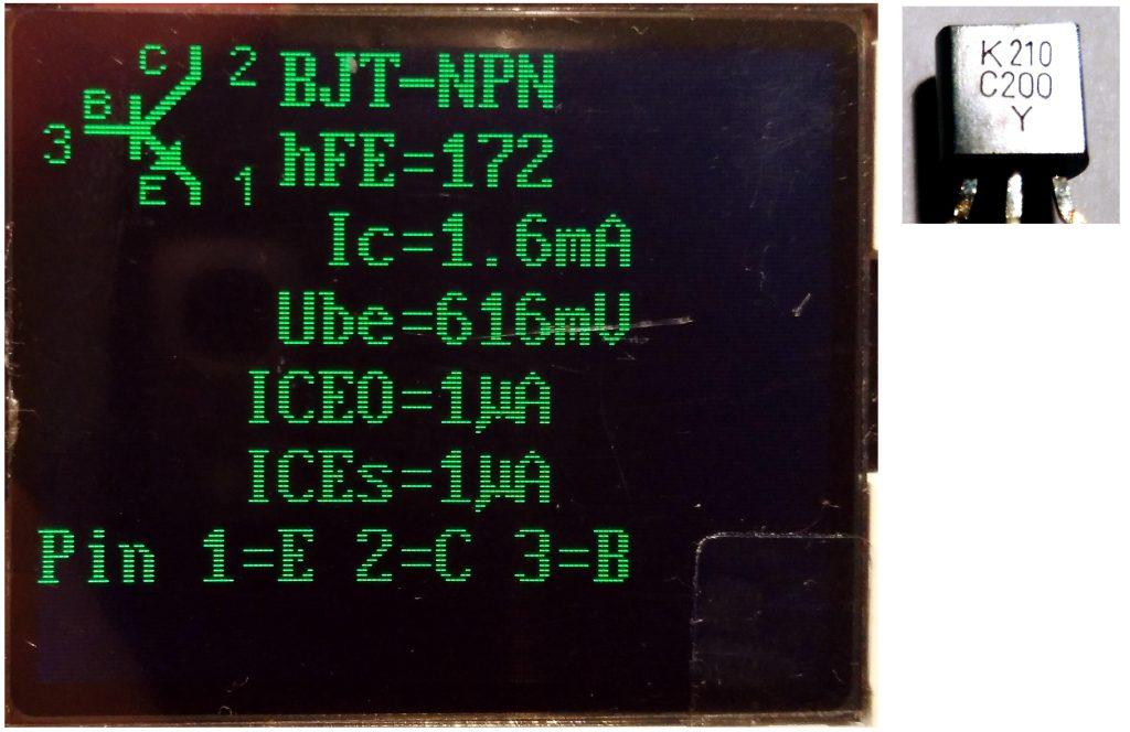 Transistor NPN C200 (used)